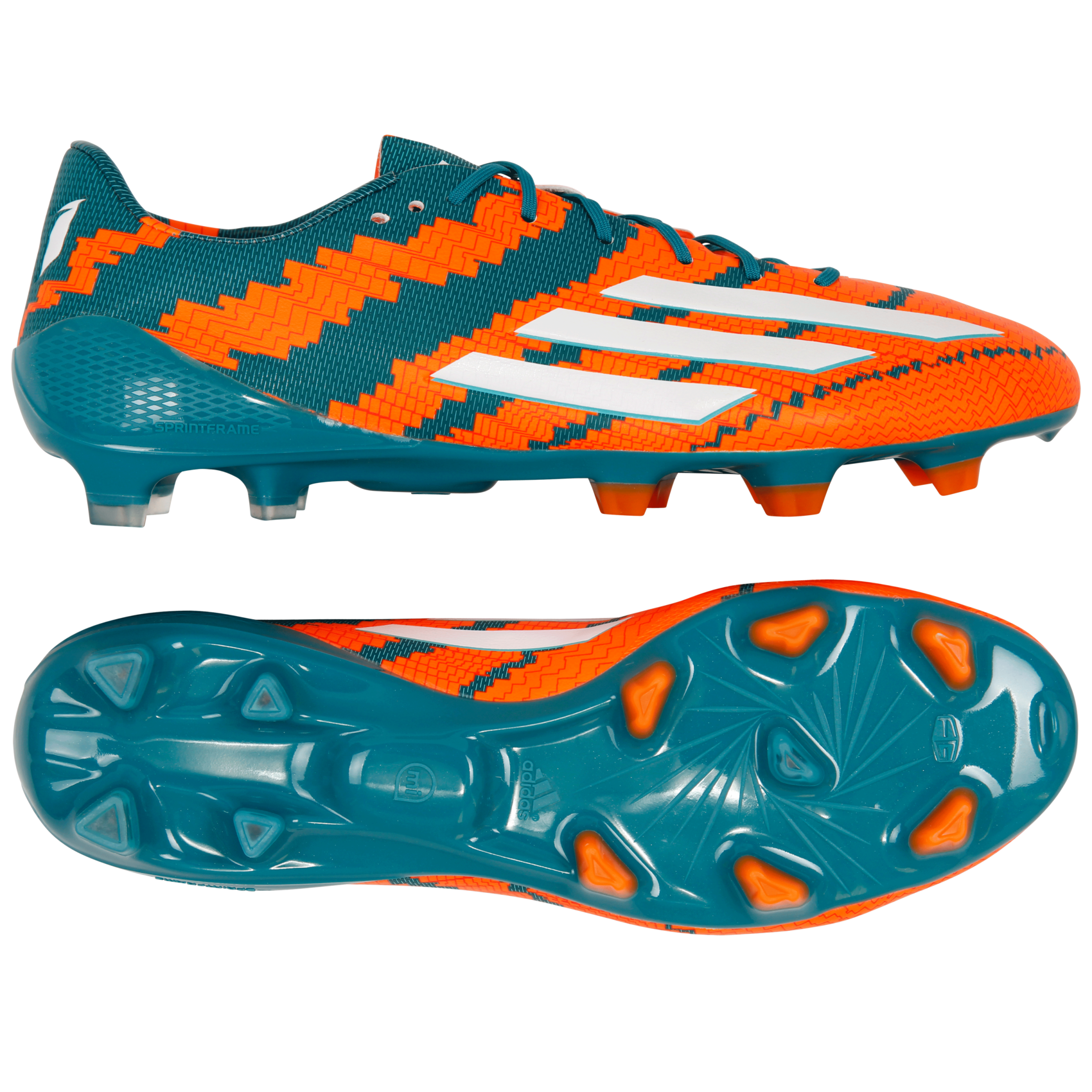 adidas - Messi 10.1 FG - Orange - Herre