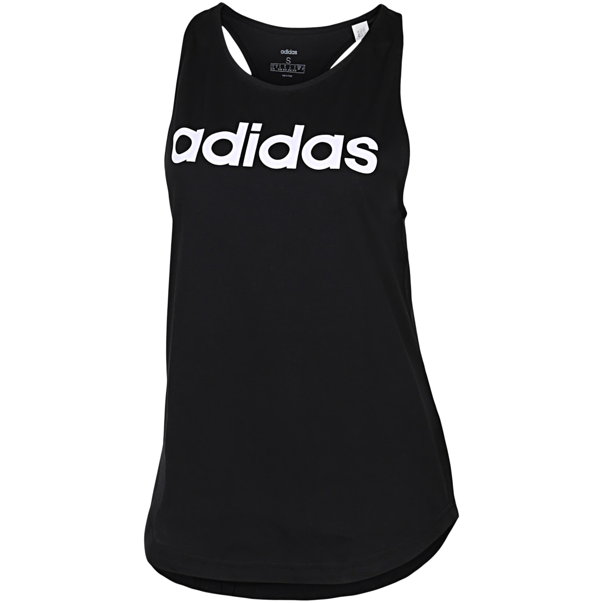 adidas - Essentials Linear Tank Top - Sort