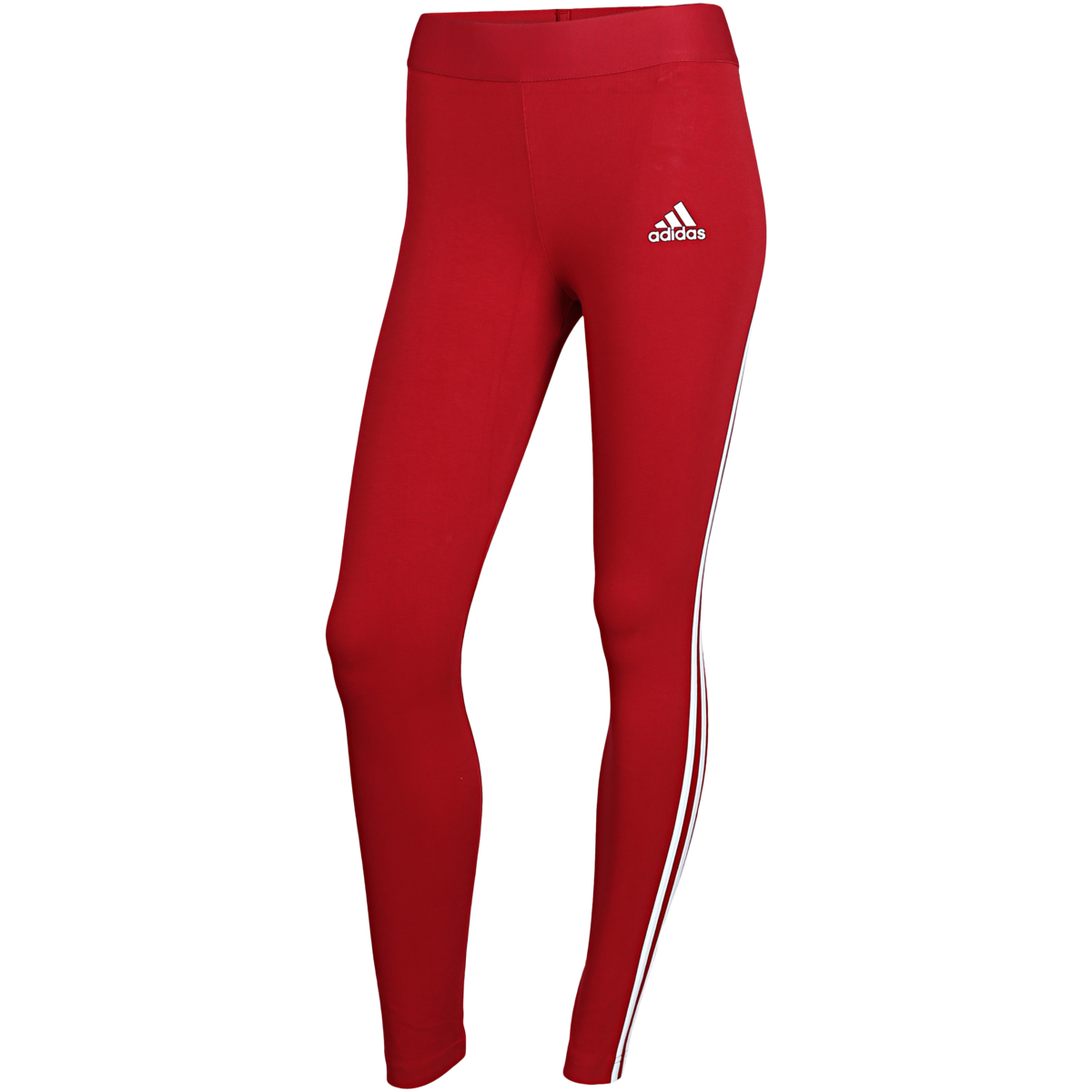 adidas - Must Haves 3-Stripes Tights - Rød