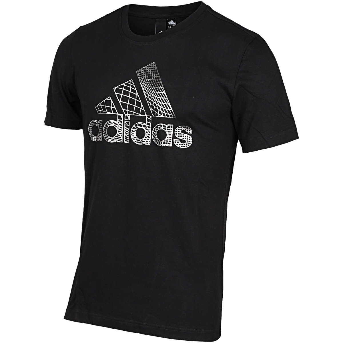 adidas – Must Haves Badge Of Sport Foil T-shirt – Sort