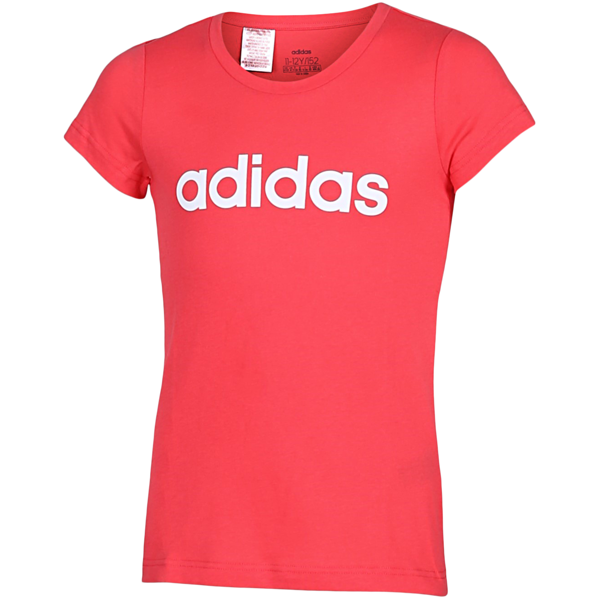 adidas - Essentials Linear T-shirt - Pink