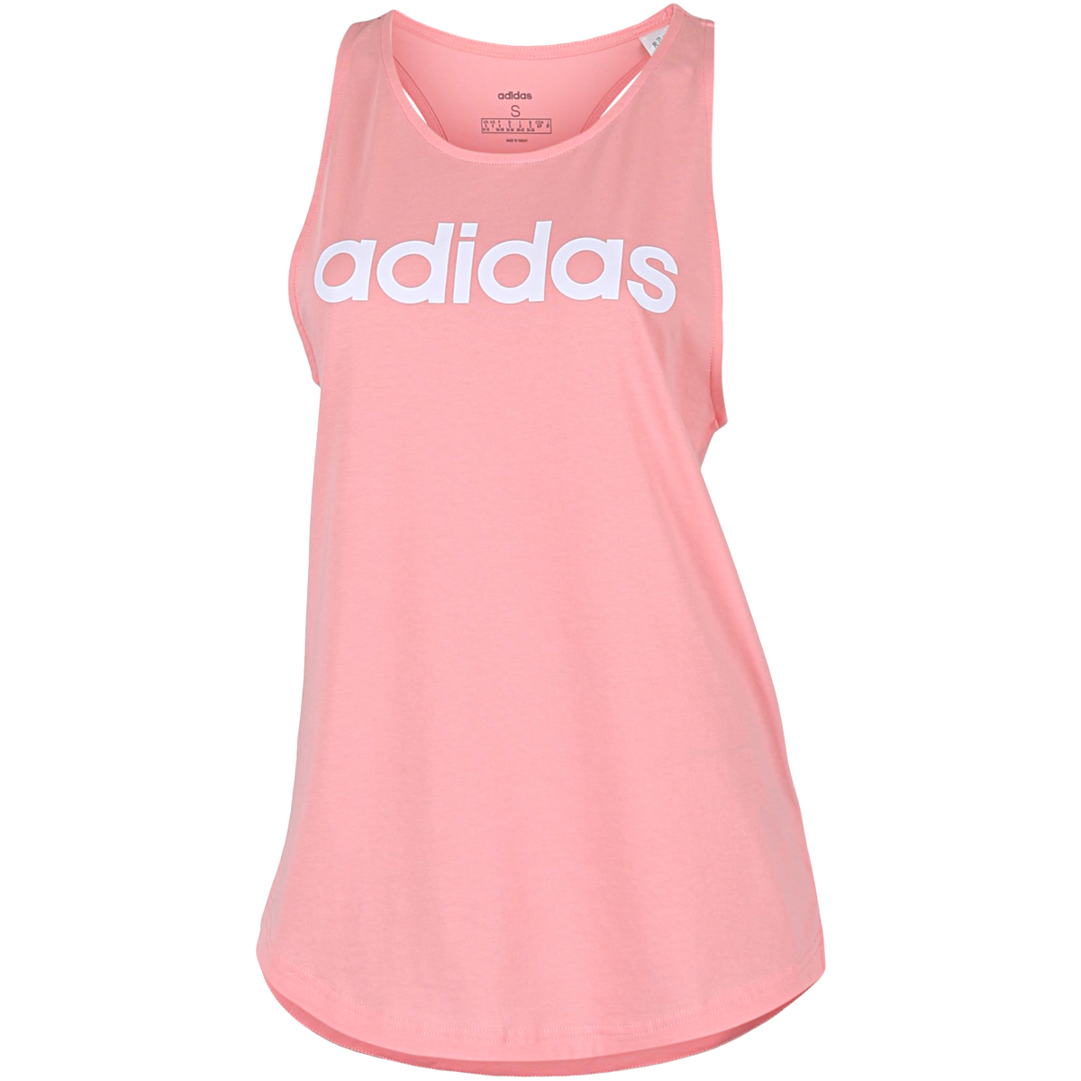 adidas - Essentials Linear Tank Top - Lyserød