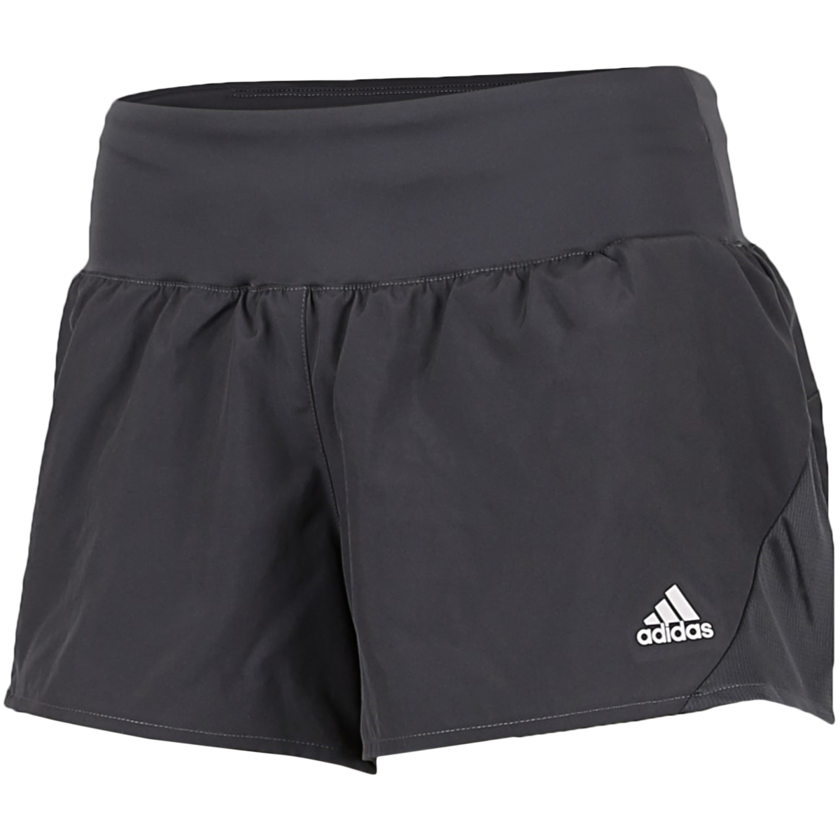 adidas - Run It 3-Stripes Shorts - Grå