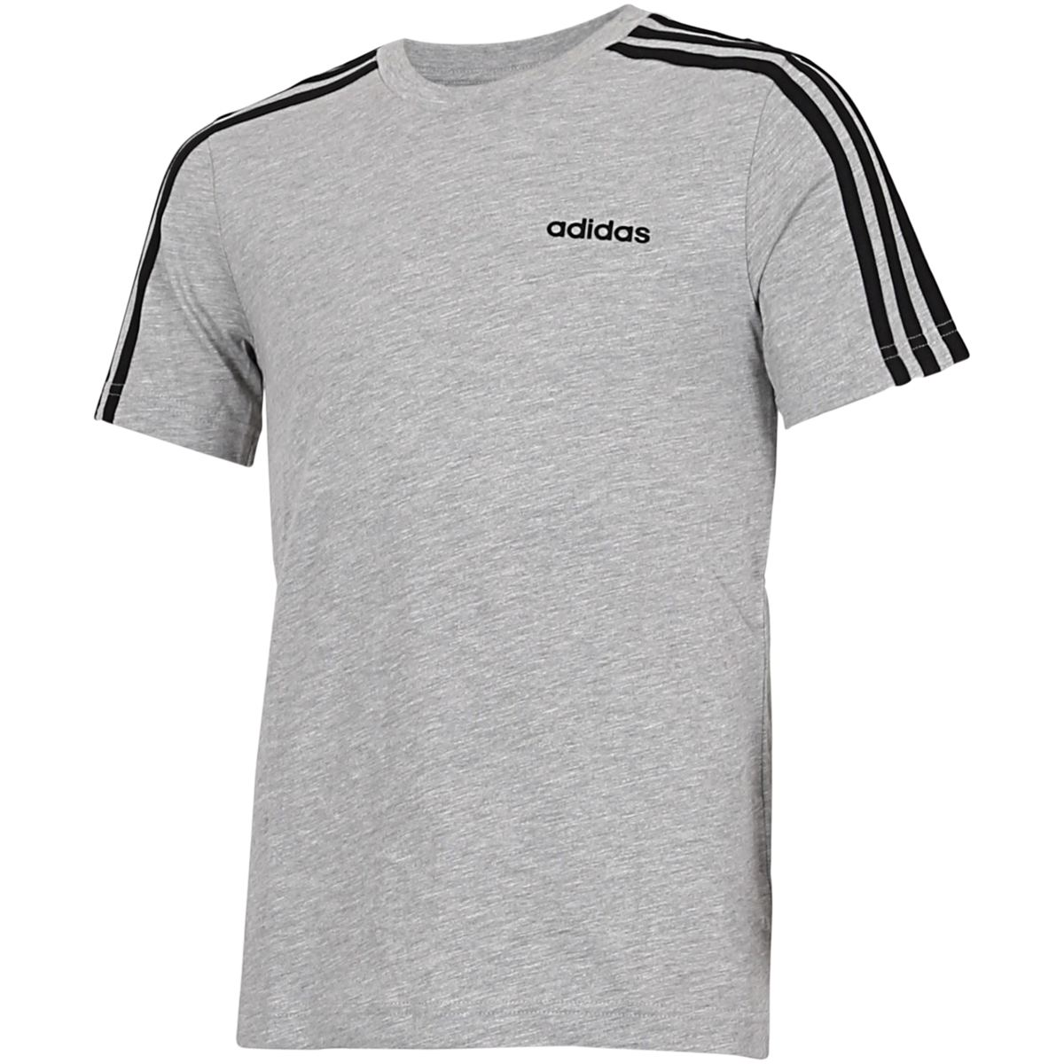 adidas - Essentials 3-Stripes T-shirt - Grå