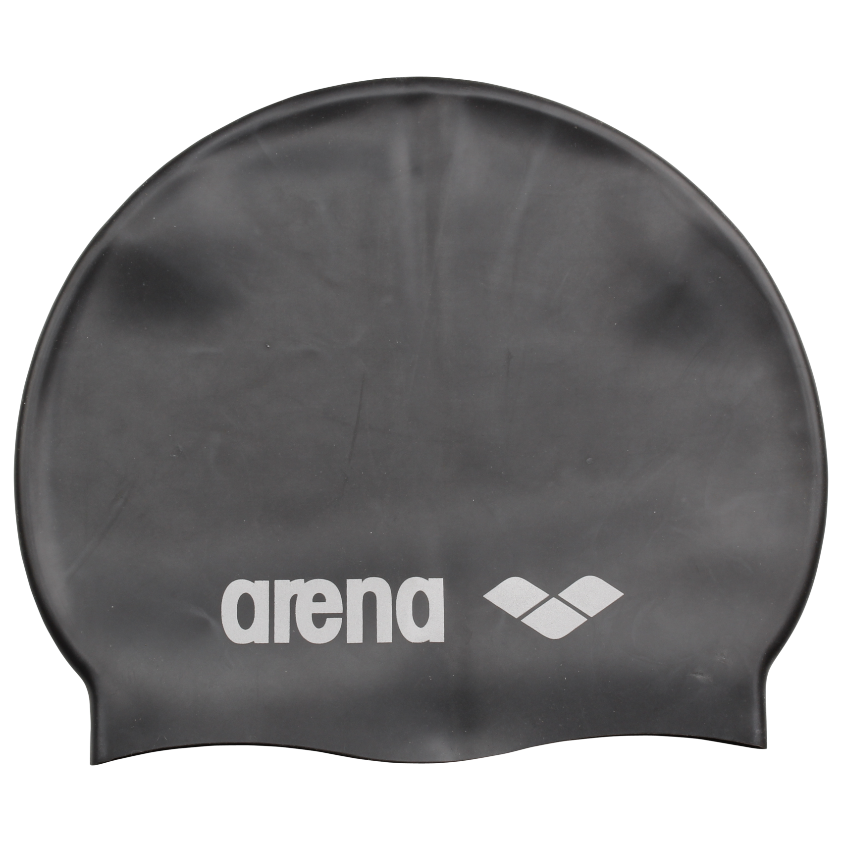 Arena - Classic Silicone Badehætte - Sort