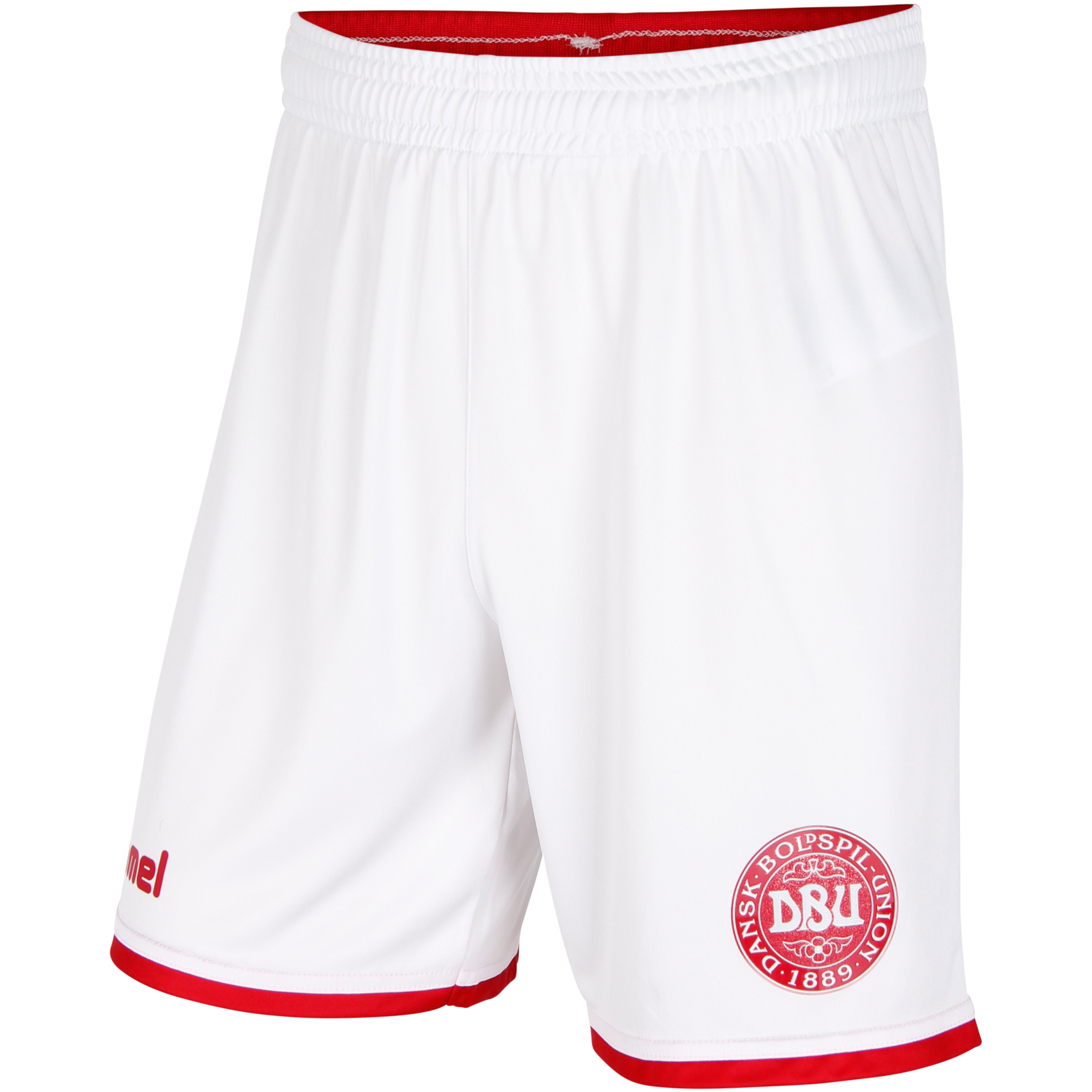 130gm2 100% polyester Micro Interlock, moisturewicking- Elastic waistband with flat poly string- Encased 1x1 contrast rib at center back- Lightweight Engineered DBU badge- Contrast binding at cuff- Printed hummel