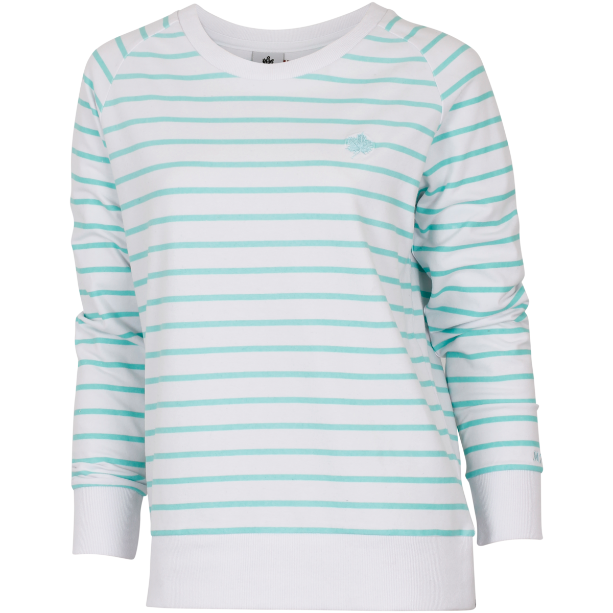 Relaxed Soft Stripe Crew