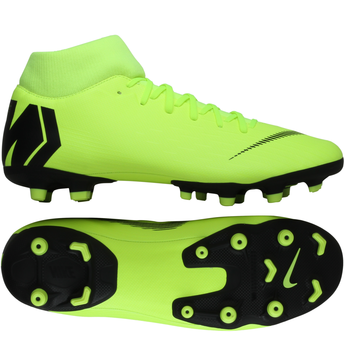 Nike – Mercurial Superfly 6 Academy FG/MG 'Always Forward' – Neon