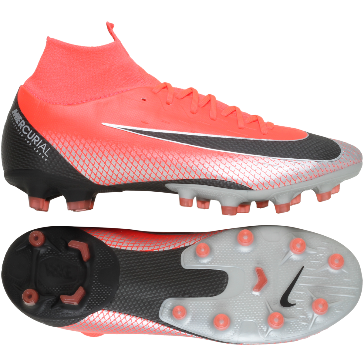 Nike – Mercurial Superfly 6 Pro CR7 AG-Pro 'Chapter 7: Built On Dreams' – Rød