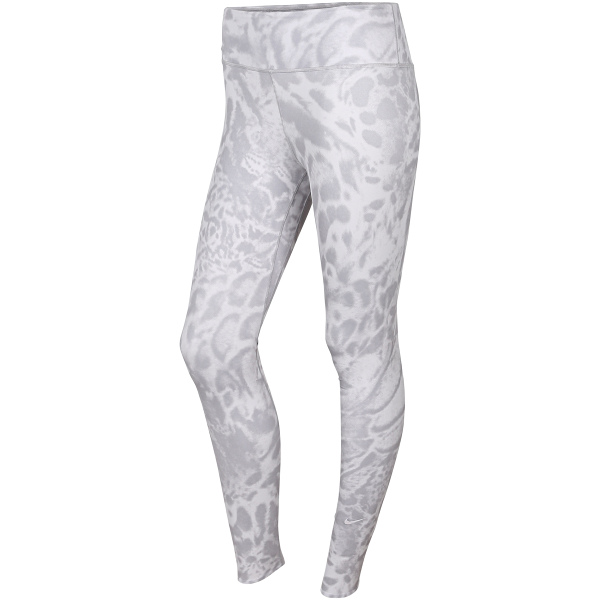 Nike - One Luxe Printed Tights  - Grå