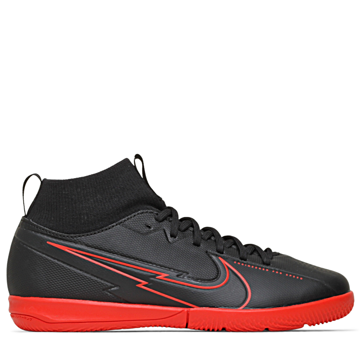Mercurial Superfly 7 Academy IC Black X Chile Red