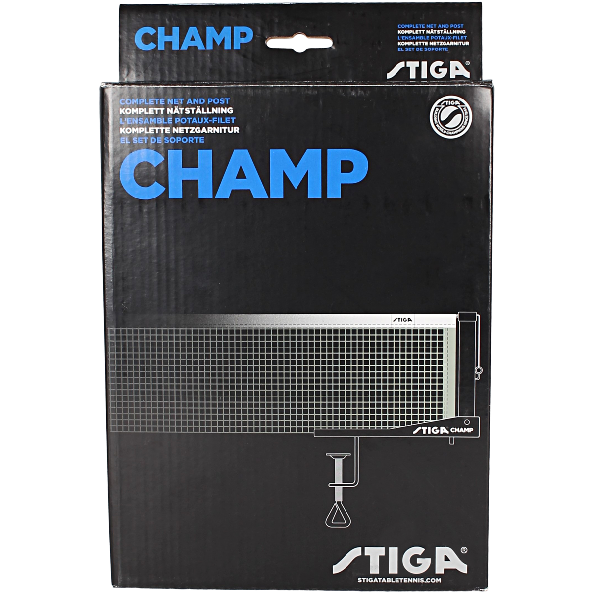 Stiga - Champ Net - Sort