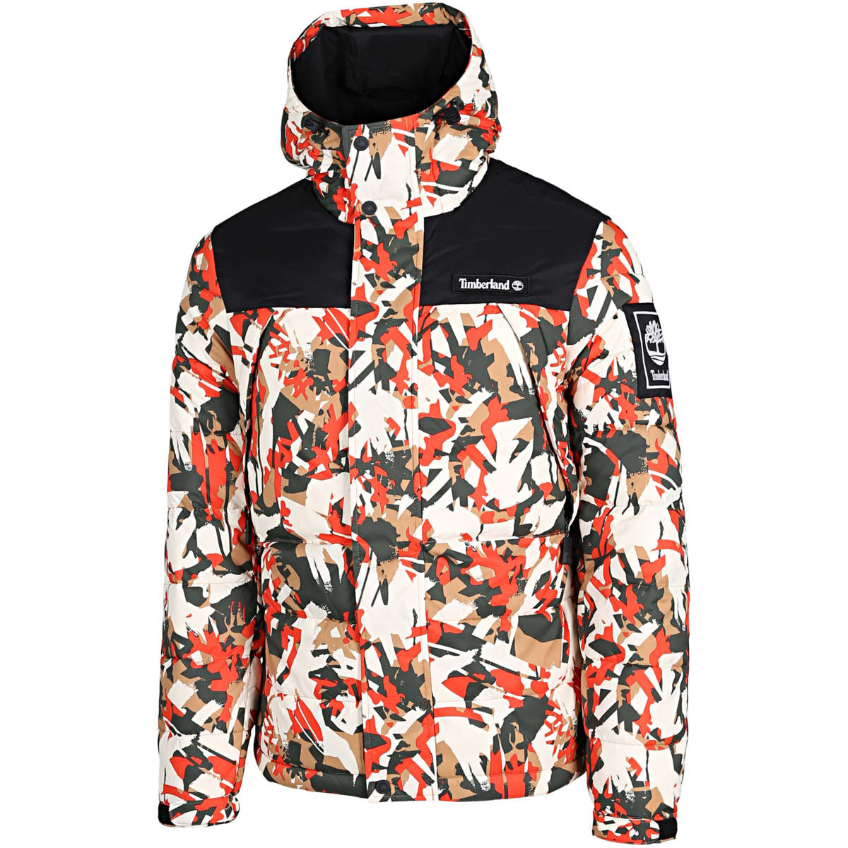 Timberland - Camo Puffer Jacket - Multicolor - Herre
