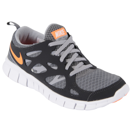 f254d030b9c7 Nike-Free Run 2 - Børn-Cool Grey Total Oran-1249664