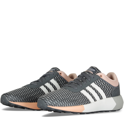 new style 3f755 f995b ... coupon for adidas cloudfoam race dame onix ftwwht vappnk 1461219 61b6d  0b572 ...