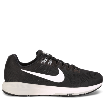 best authentic 7302b dad07 Nike-Air Zoom Structure 21-Black White-wolf Gre-1550442