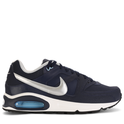 new products 5a64f 36d0c Nike-Air Max Command Leather-Obsidian Metallic Si-1609937