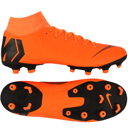 new arrival 9d484 8169a ... amazon nike mercurial superfly 6 academy mg fast by nature total orange  e6a4d 7e504