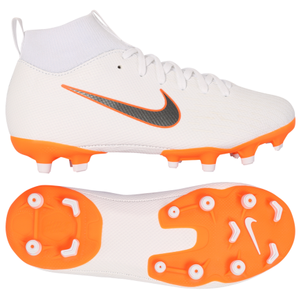 4e514f307141 Nike-Mercurial Superfly 6 Academy MG  Just Do It -White Mtlc