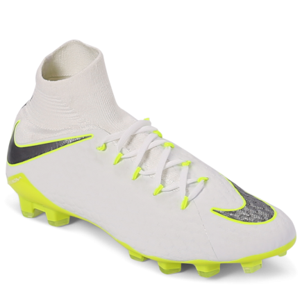 online retailer 09aea 8087f Nike-Hypervenom Phantom 3 Pro DF FG  Just Do It -White