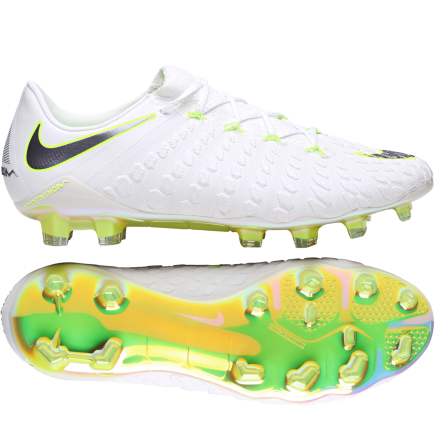 free shipping 1a0a5 5655f Nike-Hypervenom Phantom 3 Elite FG  Just Do It -White Mtlc