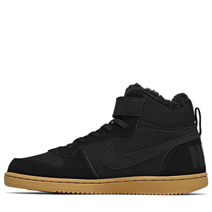 half off c5161 82a74 Nike-Court Borough Mid Winter-BlackBlack-gum Ligh-2064216