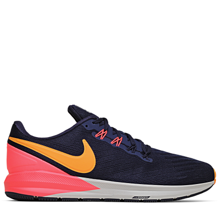 best website cacdf a7000 Nike-Air Zoom Structure 22-Blackened BlueOrang-2065142