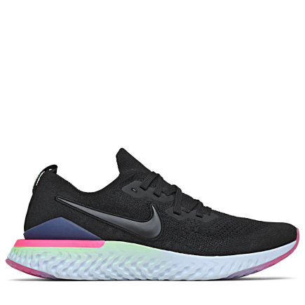 buy popular 4f874 87685 Nike-Epic React Flyknit 2-Black Black-sapphire-2082132