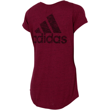 Adidas Id Winners Rød T Shirt Dame Outlet