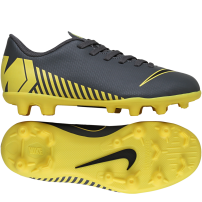 new concept 787aa 80c39 Nike-Mercurial Vapor 12 Club GS MG Game Over Pack-Dark GreyBlack