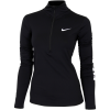 Nike-Pro Warm Top - Dame-Black/White-1554829