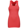 Purelime-Seamless Tank Top - Dame-Volcano Red-1167535