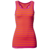 Purelime-Seamless Tank Top - Dame-Orange/Hot Pink-1228269