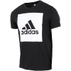 adidas Athletics-Essentials Box Logo T-shirt-Black-1493520
