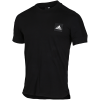 adidas Athletics-ID 3-Stripes T-shirt-Black-2082666