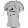 adidas Athletics-Sport ID T-shirt-Mgreyh/Black-2082688