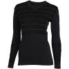 adidas by Stella McCartney-Warp Knit T-shirt L/Æ-Black-2113170