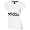 adidas-Essentials Linear T-shirt-White-1493341