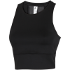 adidas-Speed Crop Tank Top - Dame-Black-1495941