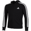 adidas-Essentials 3-Stripes Hoodie-Black/White/White-1560834