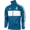 adidas-Real Madrid 3-Stripes Track Top 2017/18-Petnit/White897-1563665