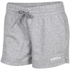 adidas-Essentials Plain Shorts-Mgreyh/White-2082670