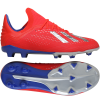 adidas-X 18.1 FG/AG Exhibit Pack-Actred/Silvmt/Boblue-2082928
