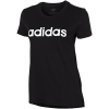 adidas-Essentials Linear T-shirt-Black/White-2084054