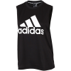 adidas-Must Haves Badge Of Sport Tank Top-Black/White-2084963