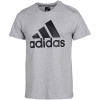 adidas-Must Haves Badge Of Sport T-shirt-Mgreyh/Black-2085010