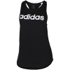 adidas-Essentials Linear Tank Top-Black/White-2085318