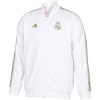 adidas-Real Madrid Anthem Jacket 2019/20-White/Drfogo-2110885