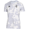 adidas-Real Madrid Pre-Match T-shirt 2019/20-Clgrey/White-2110932