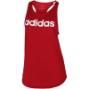 adidas-Essentials Linear Tank Top-Actmar/White-2113123